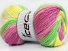 Magic DK Yellow White Orchid Green