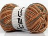 Mini Sock Light Orange Light Blue Camel Cafe Latte