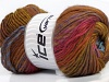 Harmony Wool Salmon Red Green Shades Brown Shades Blue