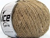 Wool Cord Fine Beige Tweed