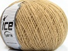 Wool Cord Fine Dark Cream