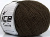 Wool Cord Fine Dark Brown