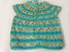 Turquoise Baby Vest