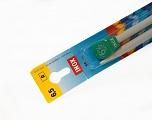 6.5 mm (US 10 1/2) Inox brand knitting needles. Length: 35 cm (14&amp). Size: 6.5 mm (US 10 1/2) Yarn Thickness Other, Brand Inox, acs-111