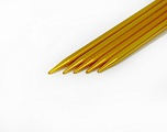 5 mm (US 8) A set of 5 double-point knitting needles. Length: 20 cm (8&amp). Material: Aluminum. 5 mm (US 8) Yarn Thickness Other, Brand ICE, acs-29