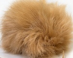 Diameter around 7cm (3&amp) Yarn Thickness Other, Light Brown, Brand Ice Yarns, acs-543