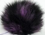 Diameter around 7cm (3&amp) Yarn Thickness Other, Lilac, Brand Ice Yarns, Black, acs-597