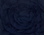 50gr-1.8m (1.76oz-1.97yards) 100% Wool felt Fiber Content 100% Wool, Yarn Thickness Other, Brand ICE, Dark Navy, acs-945