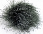 Diameter around 7cm (3&amp) Brand Ice Yarns, Grey Shades, acs-1150