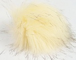 Diameter around 7cm (3&amp) Brand Ice Yarns, Cream, Brown, acs-1154