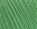 Ne: 10/3 Nm: 17/3 Fiber Content 100% Mercerised Cotton, Mint Green, Brand ICE, Yarn Thickness 1 SuperFine  Sock, Fingering, Baby, fnt2-49531