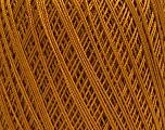 Ne: 10/3 Nm: 17/3 Fiber Content 100% Mercerised Cotton, Brand Ice Yarns, Caramel, Yarn Thickness 1 SuperFine  Sock, Fingering, Baby, fnt2-49535