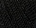 Fiber Content 100% Viscose, Brand Ice Yarns, Black, Yarn Thickness 3 Light  DK, Light, Worsted, fnt2-49536