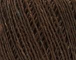 Fiber Content 100% Viscose, Brand Ice Yarns, Brown, Yarn Thickness 3 Light  DK, Light, Worsted, fnt2-49539
