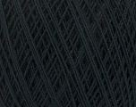 Fiber Content 67% Cotton, 33% Polyester, Brand Ice Yarns, Anthracite Black, Yarn Thickness 1 SuperFine  Sock, Fingering, Baby, fnt2-49560