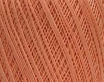 Ne: 10/3 Nm: 17/3 Fiber Content 100% Mercerised Cotton, Light Salmon, Brand Ice Yarns, Yarn Thickness 1 SuperFine  Sock, Fingering, Baby, fnt2-49563