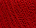 Ne: 10/3 Nm: 17/3 Fiber Content 100% Mercerised Cotton, Red, Brand Ice Yarns, Yarn Thickness 1 SuperFine  Sock, Fingering, Baby, fnt2-49564