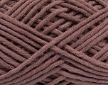 Fiber Content 60% Cotton, 40% Acrylic, Rose Brown, Brand Ice Yarns, fnt2-49590
