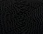 Ne: 8/4. Nm 14/4 Fiber Content 100% Mercerised Cotton, Brand Ice Yarns, Black, Yarn Thickness 2 Fine  Sport, Baby, fnt2-49593