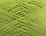 Ne: 8/4. Nm 14/4 Fiber Content 100% Mercerised Cotton, Light Green, Brand Ice Yarns, Yarn Thickness 2 Fine  Sport, Baby, fnt2-49597
