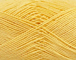 Ne: 8/4. Nm 14/4 Fiber Content 100% Mercerised Cotton, Light Yellow, Brand Ice Yarns, Yarn Thickness 2 Fine  Sport, Baby, fnt2-49602