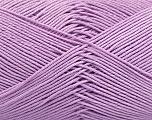 Ne: 8/4. Nm 14/4 Fiber Content 100% Mercerised Cotton, Lilac, Brand Ice Yarns, Yarn Thickness 2 Fine  Sport, Baby, fnt2-49606