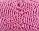 Ne: 8/4. Nm 14/4 Fiber Content 100% Mercerised Cotton, Pink, Brand Ice Yarns, Yarn Thickness 2 Fine  Sport, Baby, fnt2-49607