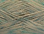 Fiber Content 100% Mercerised Cotton, Turquoise, Brand ICE, Blue, Beige, Yarn Thickness 2 Fine  Sport, Baby, fnt2-49622
