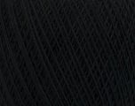 Fiber Content 67% Cotton, 33% Polyester, Brand Ice Yarns, Black, Yarn Thickness 1 SuperFine  Sock, Fingering, Baby, fnt2-49629