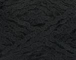 Fiber Content 55% Polyamide, 23% Cotton, 22% Acrylic, Brand ICE, Black, fnt2-49641