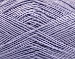 Ne: 8/4. Nm 14/4 Fiber Content 100% Mercerised Cotton, Light Lilac, Brand Ice Yarns, Yarn Thickness 2 Fine  Sport, Baby, fnt2-49849