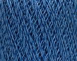 Ne: 10/3 +600d. Viscose. Nm: 17/3 Fiber Content 72% Mercerised Cotton, 28% Viscose, Brand ICE, Blue, Yarn Thickness 1 SuperFine  Sock, Fingering, Baby, fnt2-49861