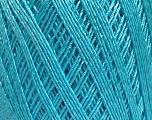 Ne: 10/3 +600d. Viscose. Nm: 17/3 Fiber Content 72% Mercerised Cotton, 28% Viscose, Light Turquoise, Brand ICE, Yarn Thickness 1 SuperFine  Sock, Fingering, Baby, fnt2-49863