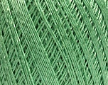 Ne: 10/3 +600d. Viscose. Nm: 17/3 Fiber Content 72% Mercerised Cotton, 28% Viscose, Mint Green, Brand Ice Yarns, Yarn Thickness 1 SuperFine  Sock, Fingering, Baby, fnt2-49864
