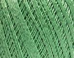 Ne: 10/3 +600d. Viscose. Nm: 17/3 Fiber Content 72% Mercerised Cotton, 28% Viscose, Mint Green, Brand Ice Yarns, Yarn Thickness 1 SuperFine  Sock, Fingering, Baby, fnt2-49864