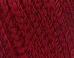 Ne: 10/3 +600d. Viscose. Nm: 17/3 Fiber Content 72% Mercerised Cotton, 28% Viscose, Brand ICE, Burgundy, Yarn Thickness 1 SuperFine  Sock, Fingering, Baby, fnt2-49867