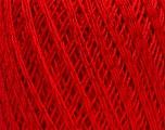 Ne: 10/3 +600d. Viscose. Nm: 17/3 Fiber Content 72% Mercerised Cotton, 28% Viscose, Red, Brand ICE, Yarn Thickness 1 SuperFine  Sock, Fingering, Baby, fnt2-49868