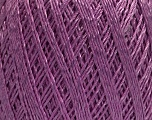 Ne: 10/3 +600d. Viscose. Nm: 17/3 Fiber Content 72% Mercerised Cotton, 28% Viscose, Lilac, Brand Ice Yarns, Yarn Thickness 1 SuperFine  Sock, Fingering, Baby, fnt2-49873