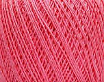 Ne: 10/3 +600d. Viscose. Nm: 17/3 Fiber Content 72% Mercerised Cotton, 28% Viscose, Pink, Brand Ice Yarns, Yarn Thickness 1 SuperFine  Sock, Fingering, Baby, fnt2-49874