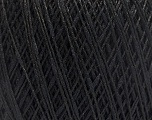 Fiber Content 84% Cotton, 16% Polyamide, Brand Ice Yarns, Black, Yarn Thickness 1 SuperFine  Sock, Fingering, Baby, fnt2-49944