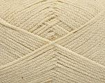 Fiber Content 100% Cotton, Brand ICE, Cream, Yarn Thickness 2 Fine  Sport, Baby, fnt2-50094