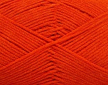Fiber Content 100% Cotton, Orange, Brand Ice Yarns, Yarn Thickness 2 Fine  Sport, Baby, fnt2-50097