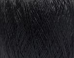 Fiber Content 100% Viscose, Brand Ice Yarns, Black, Yarn Thickness 1 SuperFine  Sock, Fingering, Baby, fnt2-50125