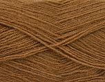 Fiber Content 60% Acrylic, 40% Angora, Light Brown, Brand ICE, Yarn Thickness 2 Fine  Sport, Baby, fnt2-50278
