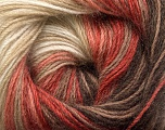 Fiber Content 60% Premium Acrylic, 20% Mohair, 20% Wool, White, Salmon Shades, Brand Ice Yarns, Brown Shades, Yarn Thickness 2 Fine  Sport, Baby, fnt2-50300