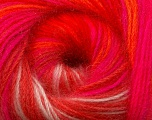 Fiber Content 60% Premium Acrylic, 20% Mohair, 20% Wool, Neon Colors, Brand Ice Yarns, Yarn Thickness 2 Fine  Sport, Baby, fnt2-50311