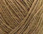 Fiber Content 100% Hemp Yarn, Brand ICE, Camel, Yarn Thickness 3 Light  DK, Light, Worsted, fnt2-50517