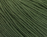 Fiber Content 60% Bamboo, 40% Cotton, Brand Ice Yarns, Dark Khaki, Yarn Thickness 3 Light  DK, Light, Worsted, fnt2-50540