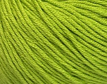 Fiber Content 60% Bamboo, 40% Cotton, Brand ICE, Green, Yarn Thickness 3 Light  DK, Light, Worsted, fnt2-50542