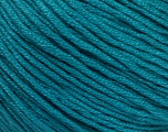 Fiber Content 60% Bamboo, 40% Cotton, Teal, Brand ICE, Yarn Thickness 3 Light  DK, Light, Worsted, fnt2-50545